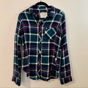 ABERCROMBIE & FITCH Long Sleeve Flannel